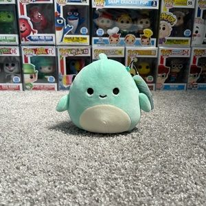 """Perry the Dolphin 5"""" Squishmallow"""